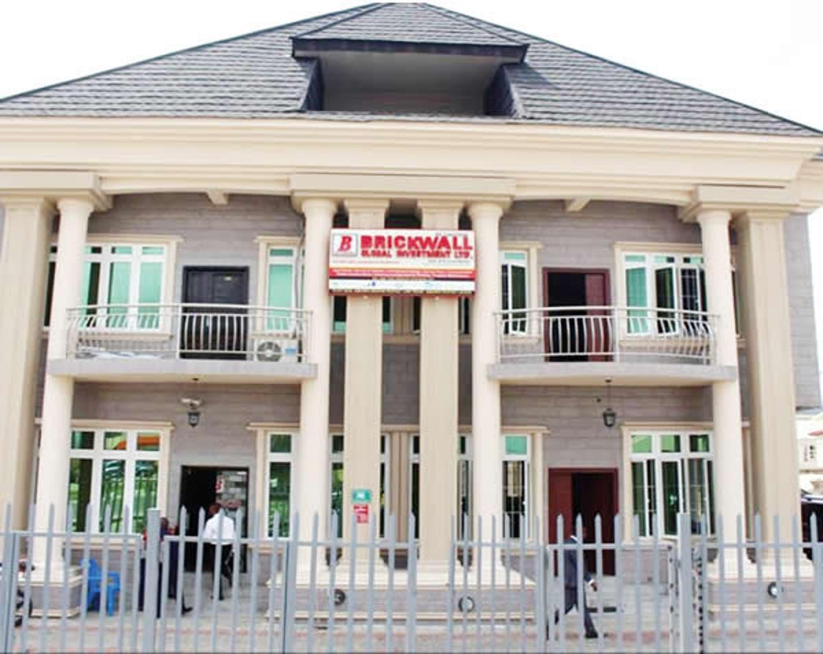 Brickwall Global Investment Limited, a Lagos-based real estate topnaija.ng