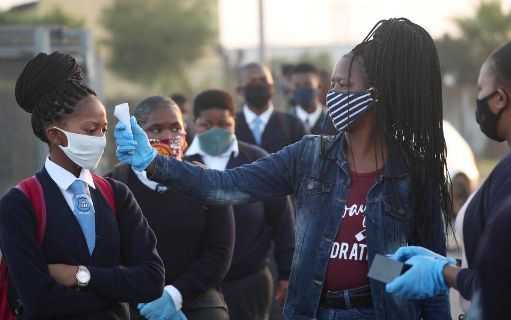 South Africa schools covid-19 topnaija.ng