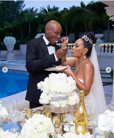 Basketball Wives' star, CeCe Gutierrez marries Byron Scott in intimate ceremony