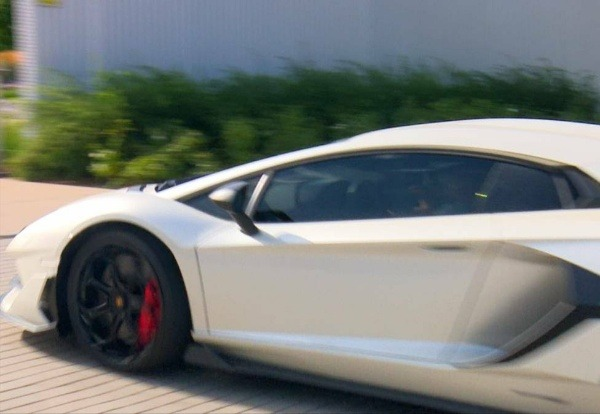 Eden Hazard splashes £500,000 on a Lamborghini Aventador SVJ