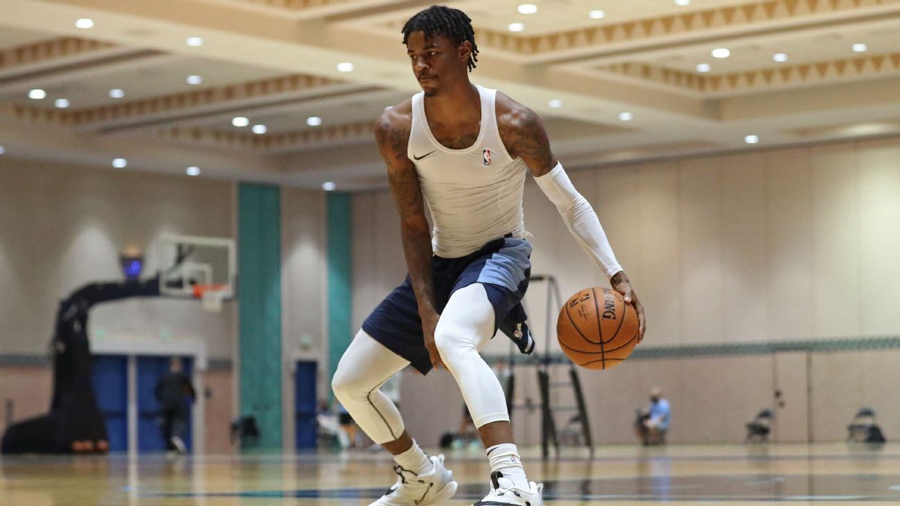Memphis Grizzlies superstar Morant says NBA's play-in format unfair to Grizzlies-TopNaija.ng