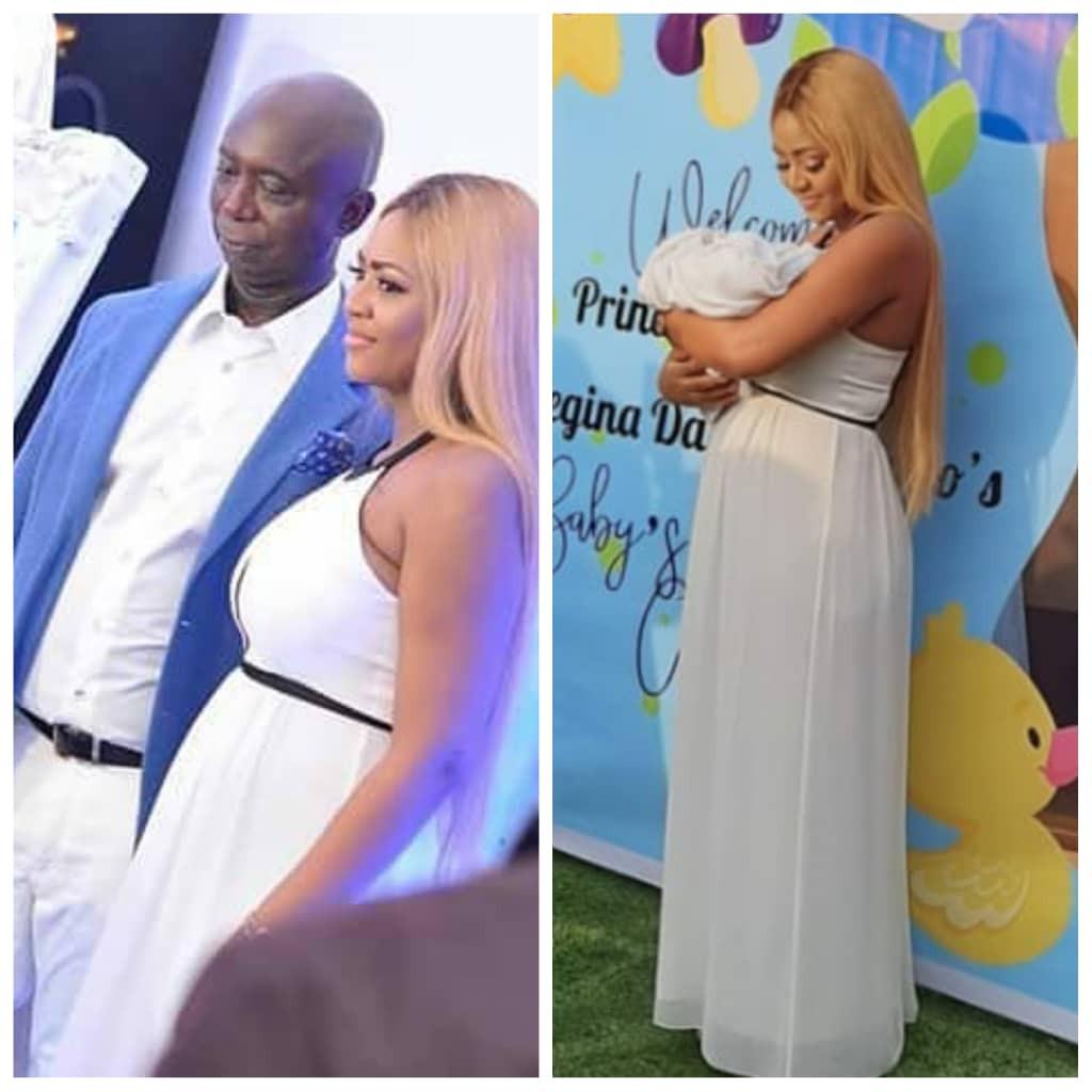 naming ceremony of Actress Regina Daniels and Ned Nwoko's son topnaija.ng