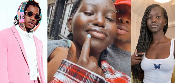 Runtown sparks dating rumours with Sudanese-Australian model, Adut Akech