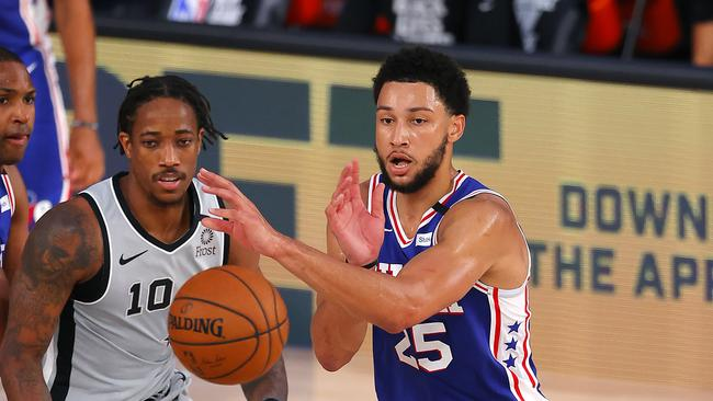 How Ben Simmons fouled out in 76ers win over San Antonio-TopNaija.ng