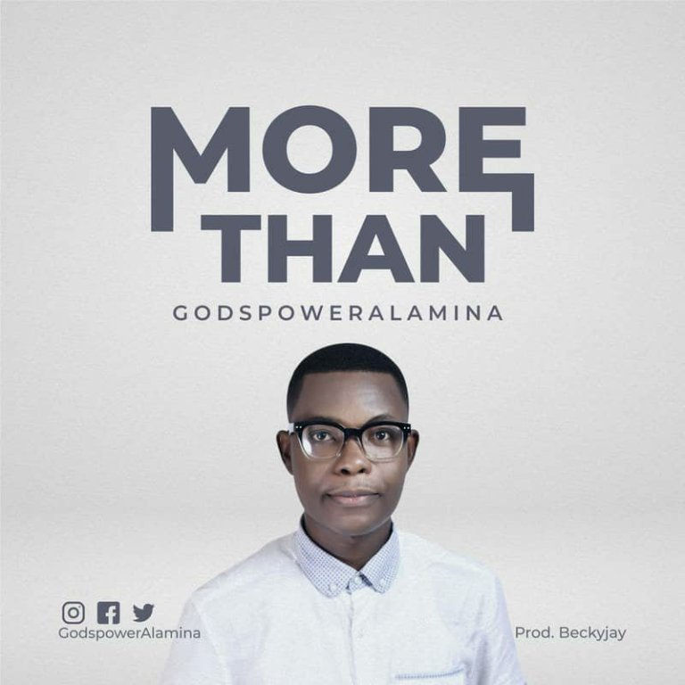 Godspower Alamina – More Than-TopNaija.ng