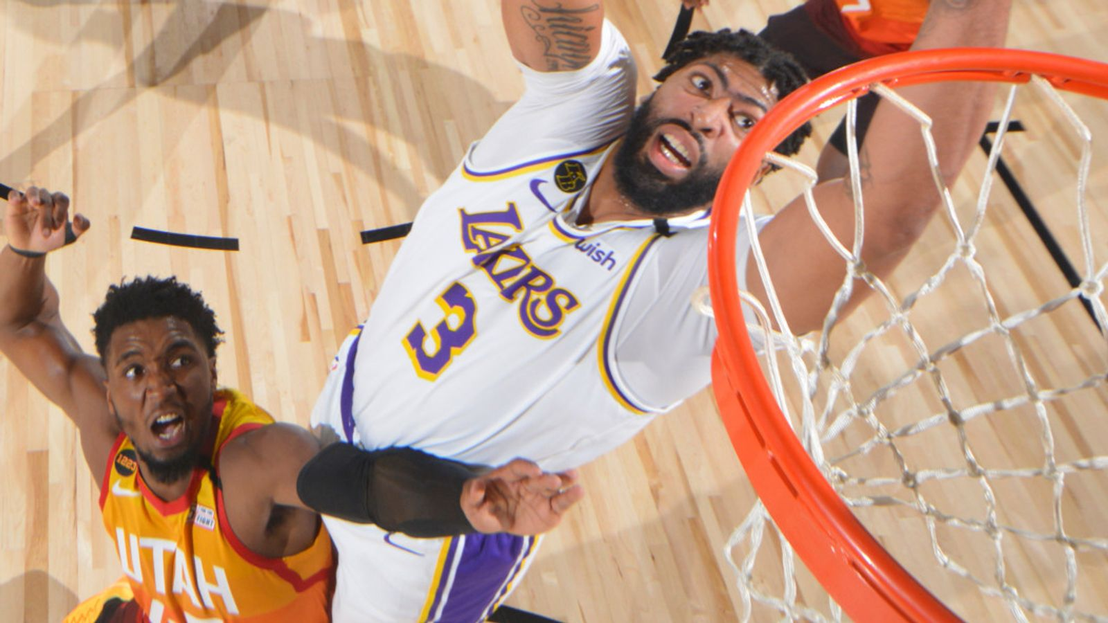 How Anthony Davis dominated as Lakers beat Jazz to seal No 1 seed in West playoffs-TopNaija.ng