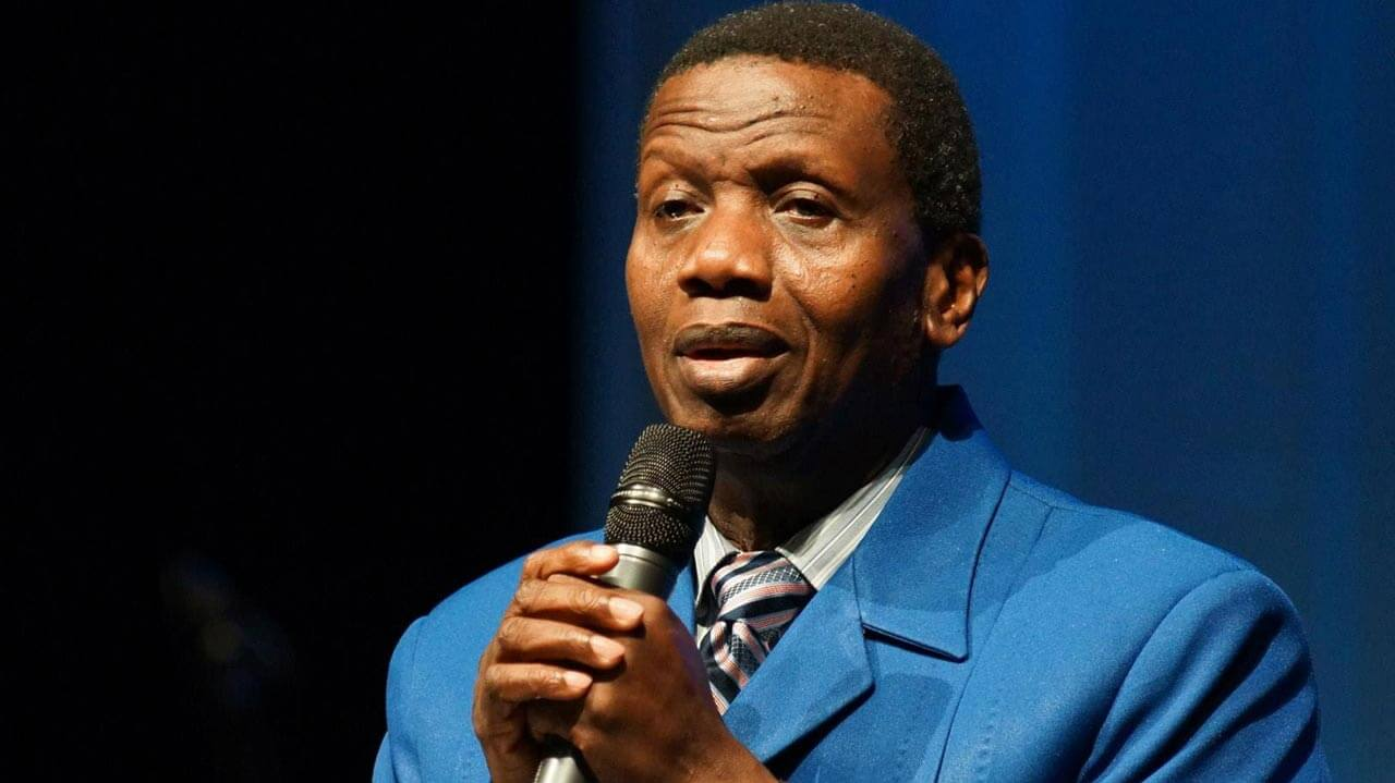 Pastor Adeboye sells off private jet, gives reason