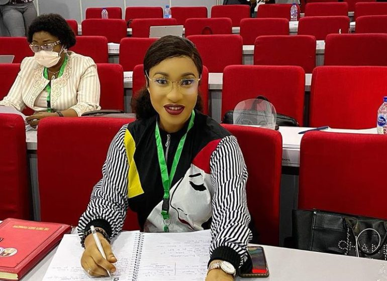 Tonto Dikeh returns to school