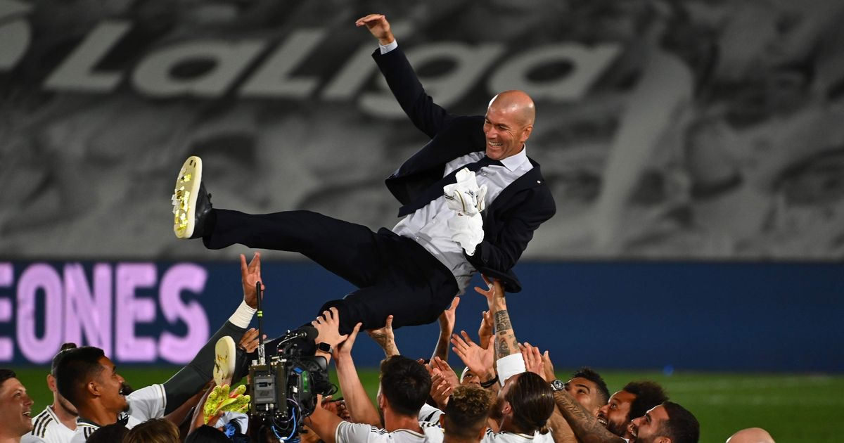 How Zinedine Zidane was named world's best manager- TopNaija.ng