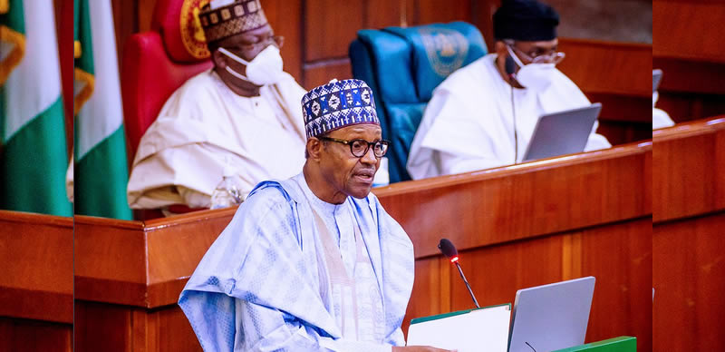 Buhari's 2021 budget presentation to National Assembly