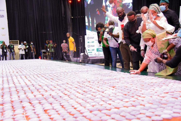 Lagos breaks Singapore's record; puts Nigeria on world record (Photos)