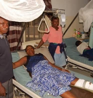 Police allegedly shoot three women while dispersing traffic win Bayelsa -TopNaija.ng