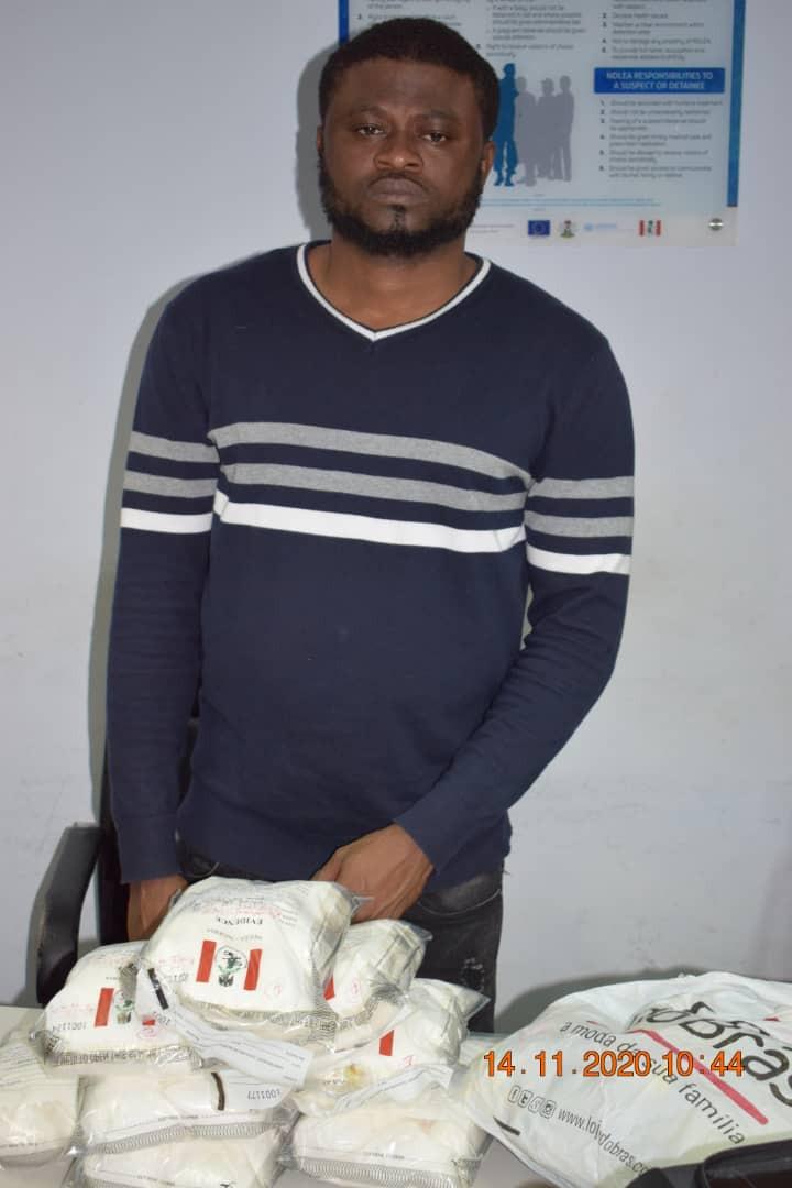 How NDLEA nabbed Brazil returnee with cocaine at Abuja airport-TopNaija.ng