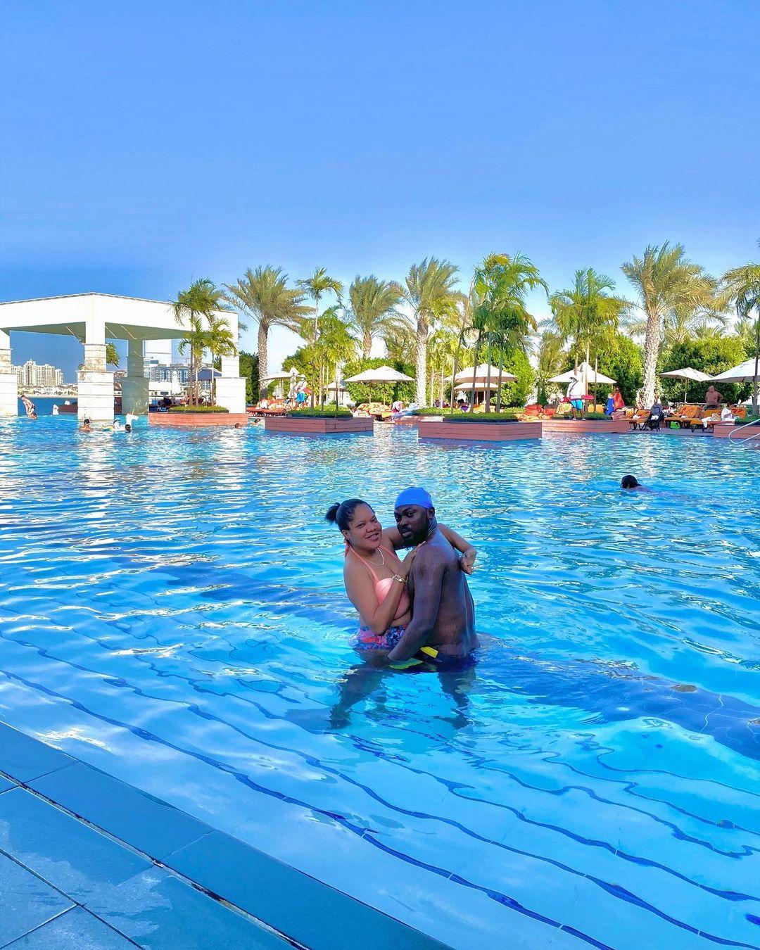 Toyin Abraham praises husband for family holiday in Dubai [PHOTOS]