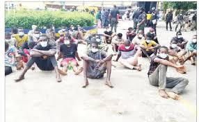 103 arrested for COVID-19 violation, robbery, arson in Lagos-topnaija
