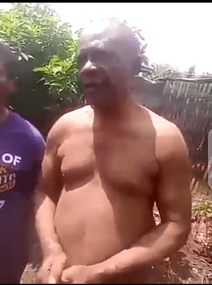 Pastor stripped naked after defiling 3 daughters in Rivers [VIDEO]