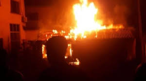 Early morning fire razes shop, other properties in Osun-TopNaija.ng