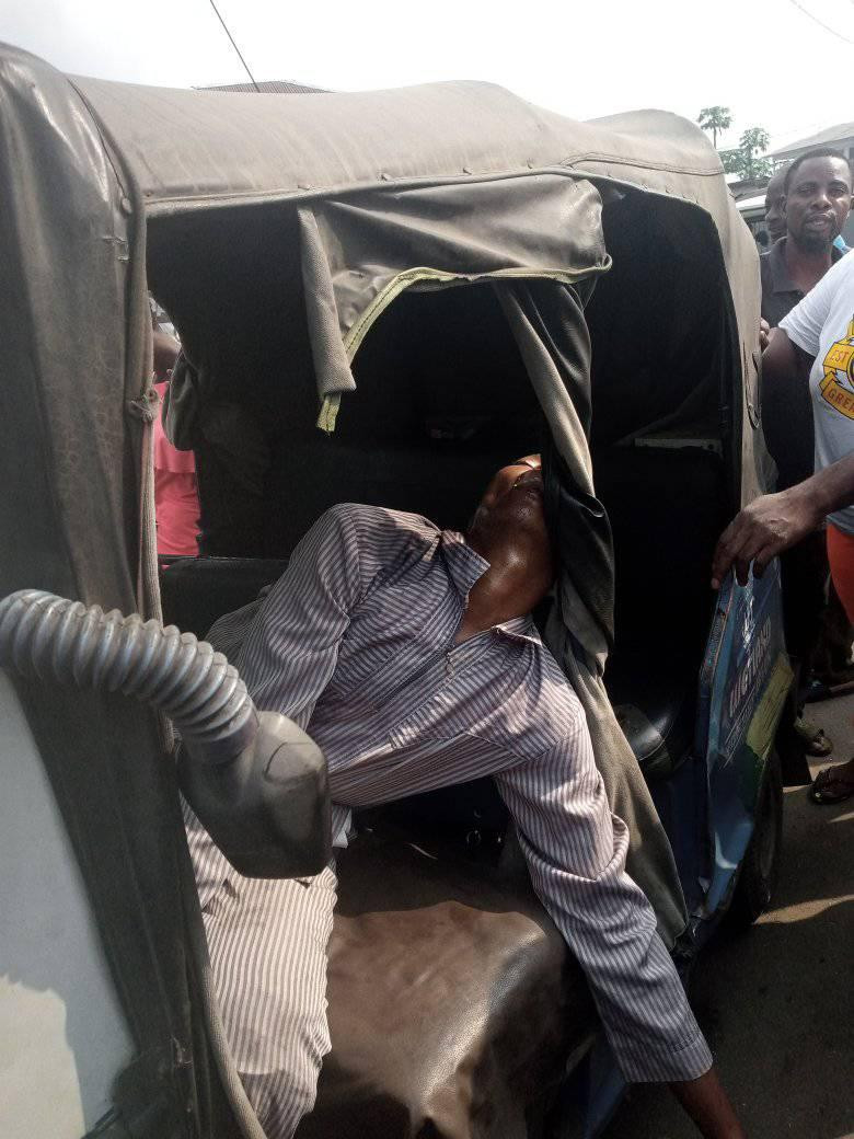 Tricycle rider commits suicide in Delta (graphic photos)-TopNaija.ng