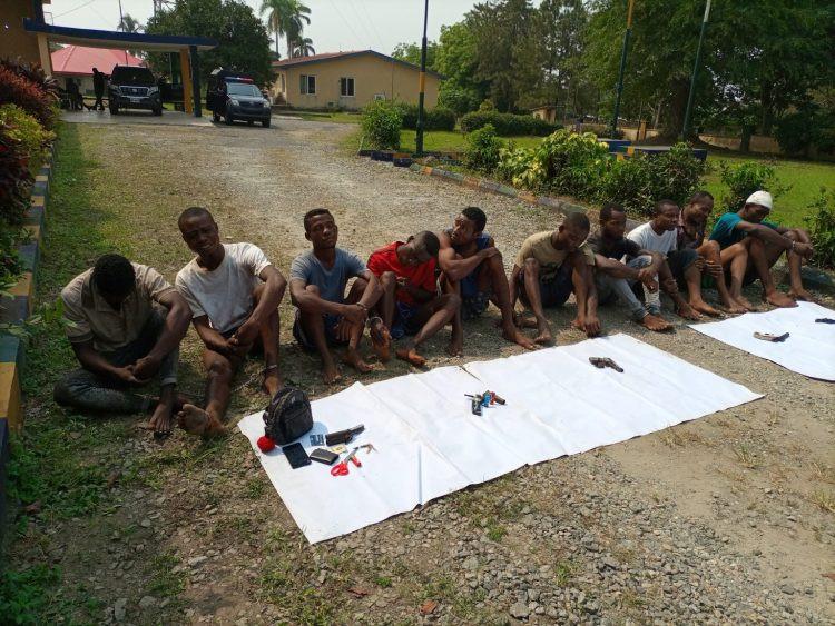 Police parade ten criminal suspects in Cross Rivers-TopNaija.ng