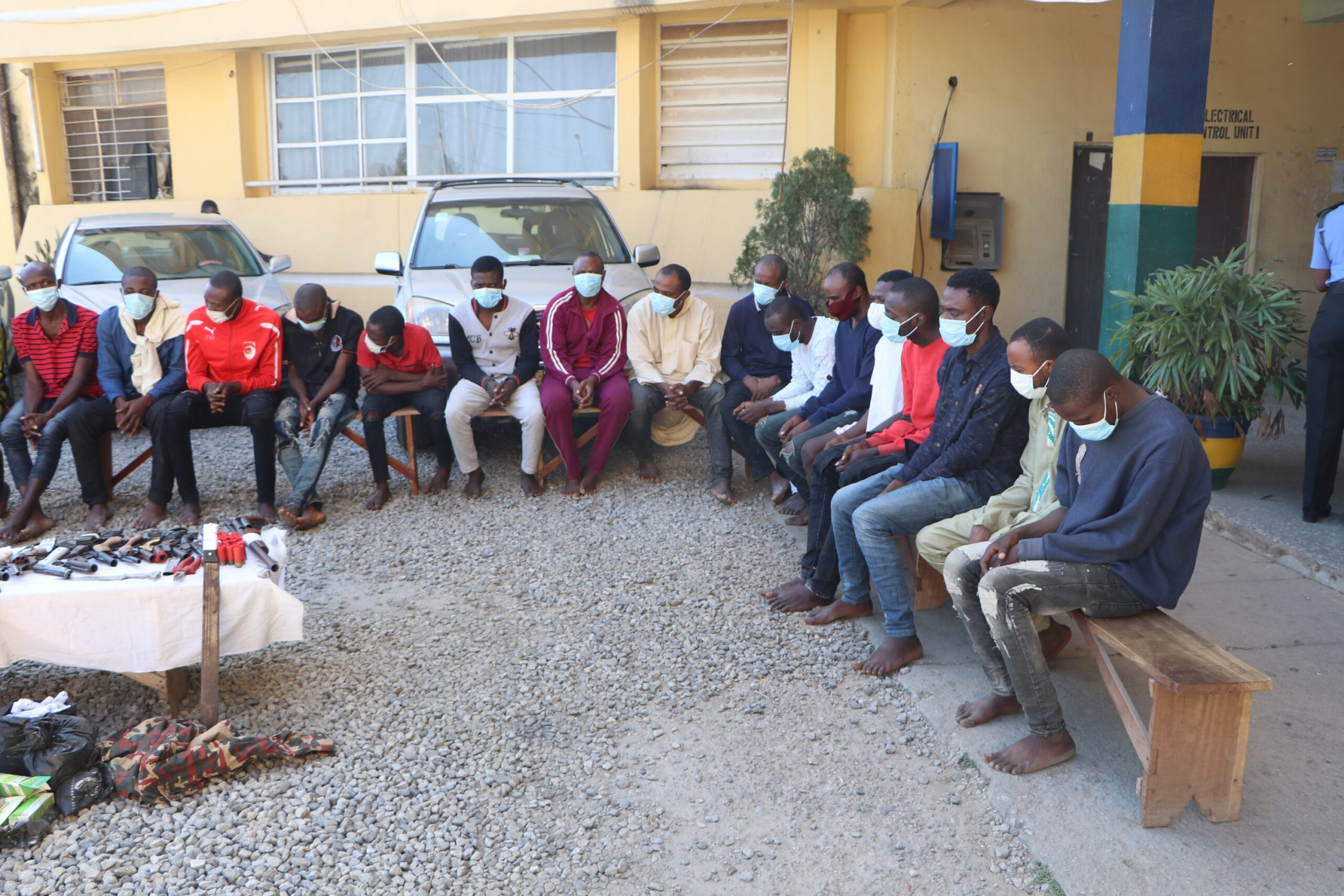 40 nabbed over car theft, robbery in Abuja
