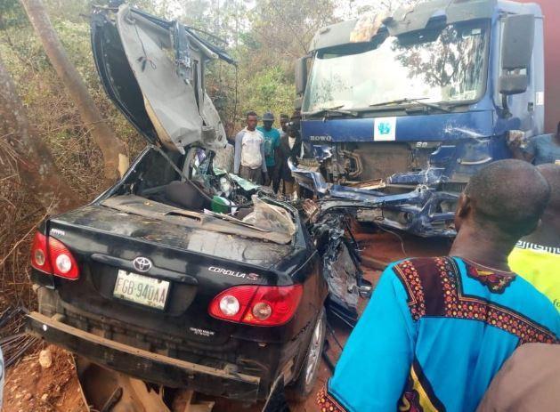 ondo Benue road accidents