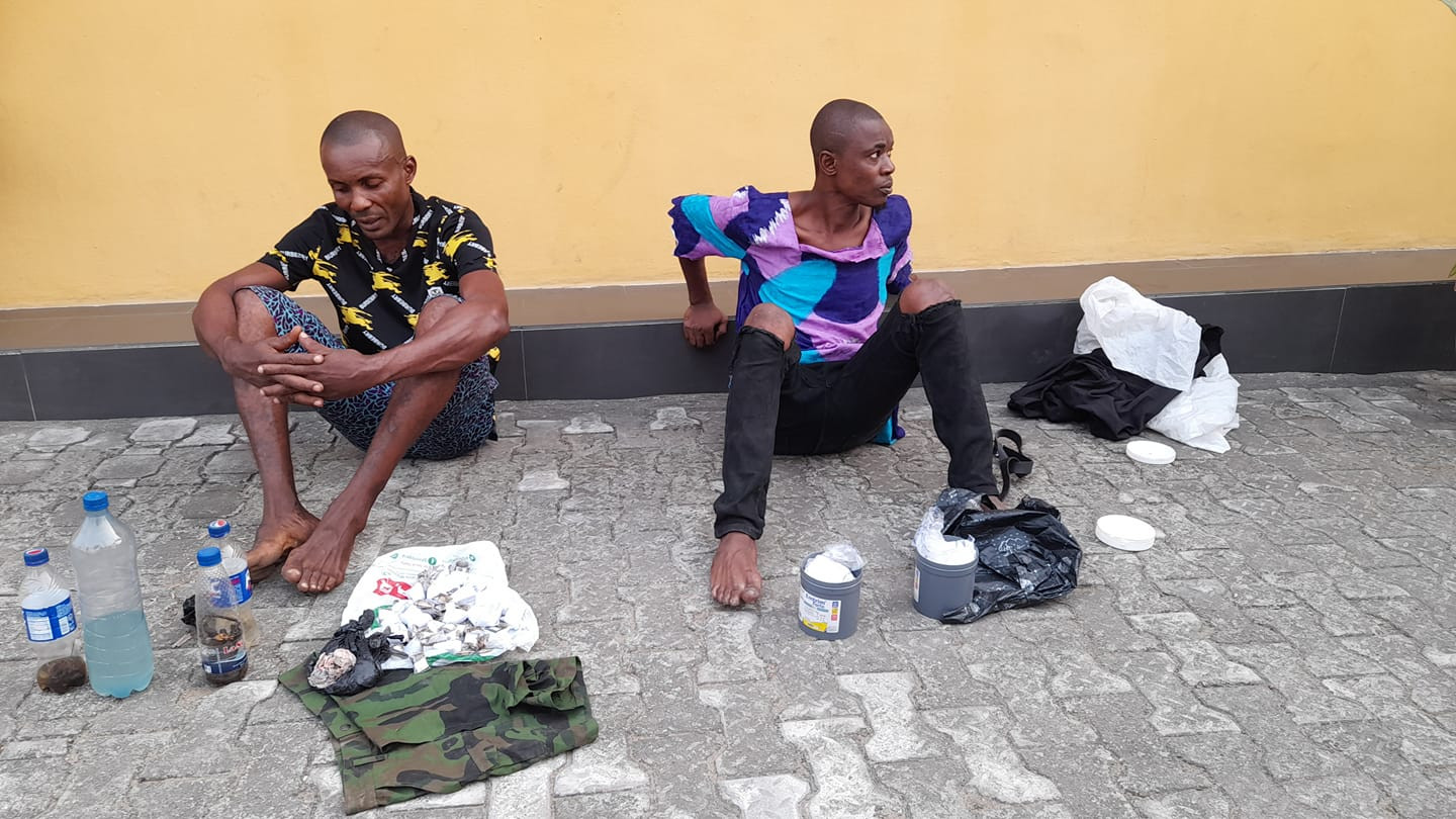 Police arrest two suspected drug peddlers in Cross River state-TopNaija.ng