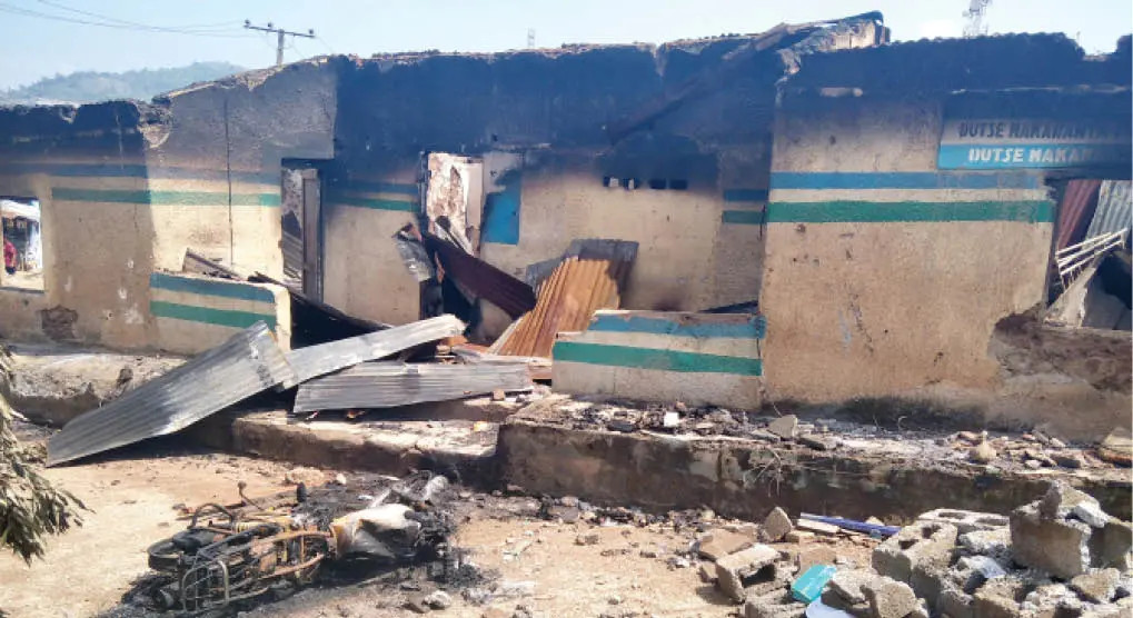 How gunmen killed two police officers, set police station on fire in Abia-TopNaija.ng