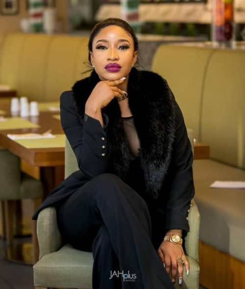 Tonto Dikeh moves into her 6-bedroom mansion in Abuja