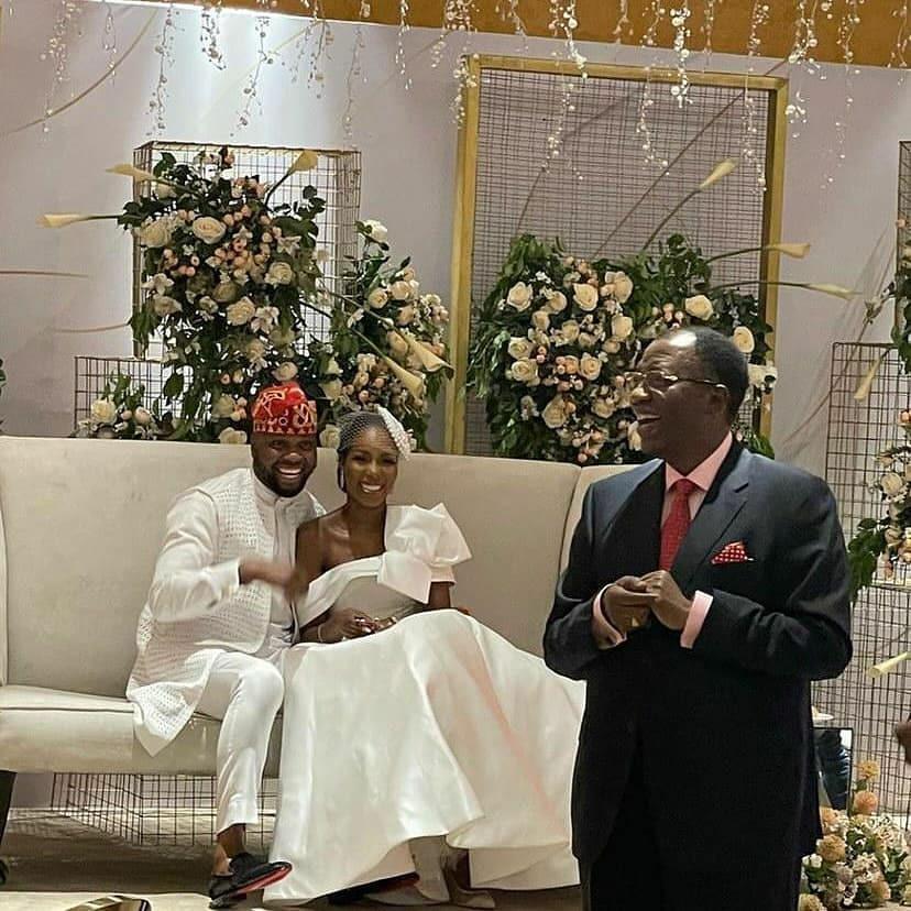 Adebola Williams weds Gbenga Daniels daughter [PHOTOS]