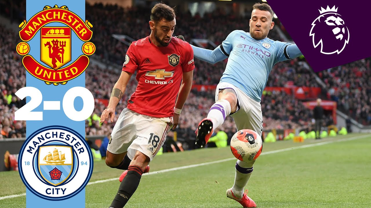 manchester united manchester city 2-0 highlights