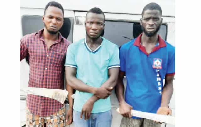 How Lagos police arrested three cultists, impound gang's bus-TopNaija.ng