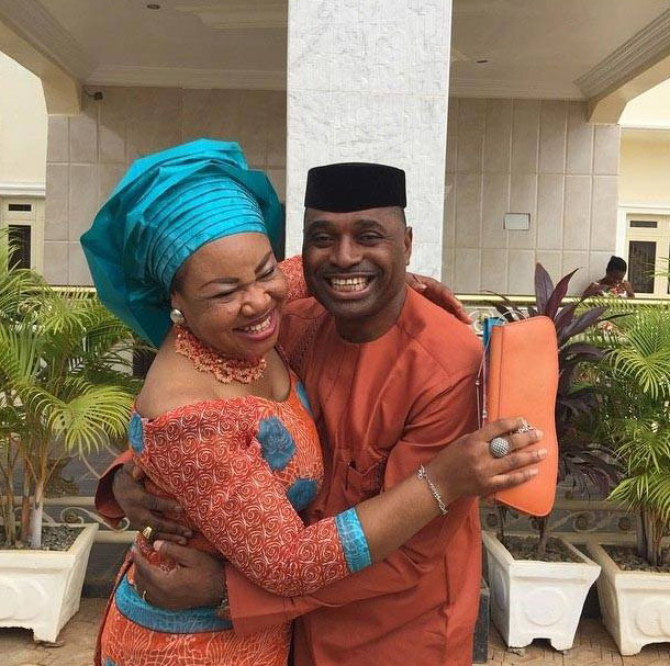 'I want to be a perfect husband for you'-Kenneth Okonkwo says as wife turns a year older