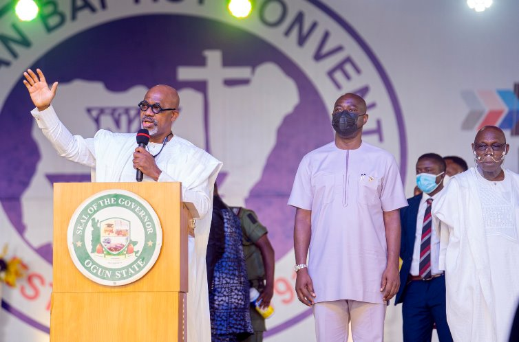 I may become pastor after second tenure, says Gov Abiodun
