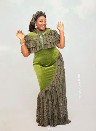Omotunde also known as Adaku of Jenifa's dairy, marks 44th birthday in stunning outfits