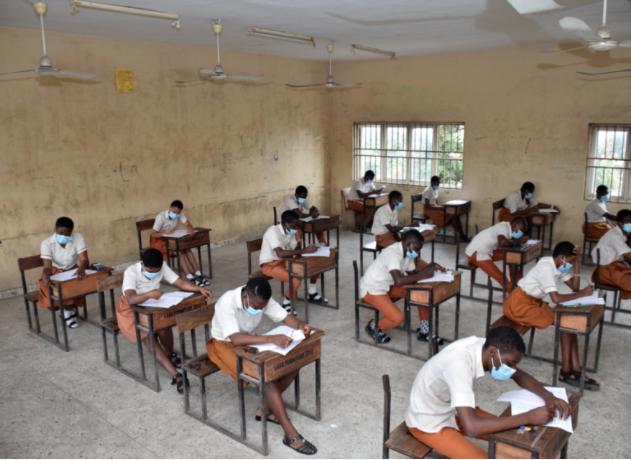 Students writing JAMB WAEC EXAM topnaija.ng