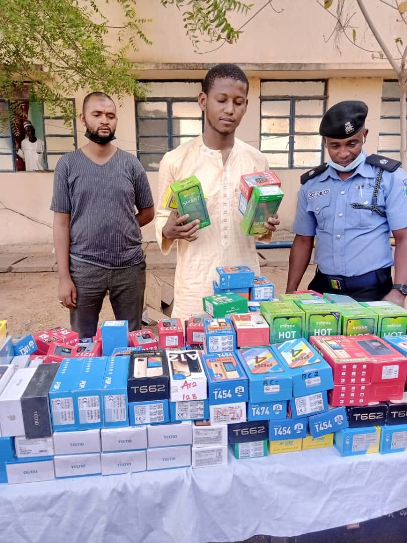 How Police arrested ex-convict who stole 273 phones worth N15m in Katsina-TopNaija.ng