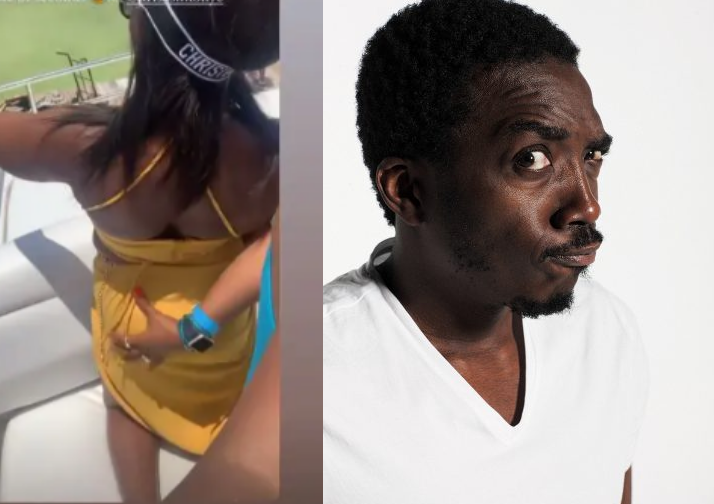 Y'all better not come back - Comedian Bovi reacts as his wife's bum was grabbed on camera in Mexico