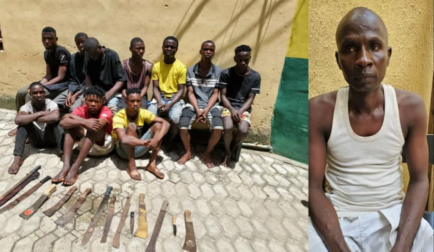 Police arrest 11 suspected cultists and traffic robbers in Lagos-TopNaija.ng