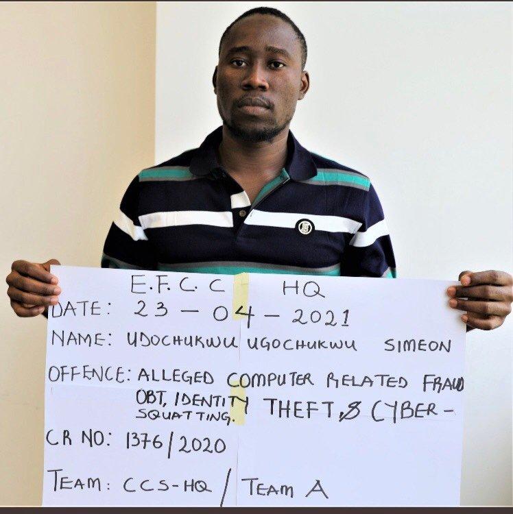Nigerian man arrested for cloning EFCC email-TopNaija.ng