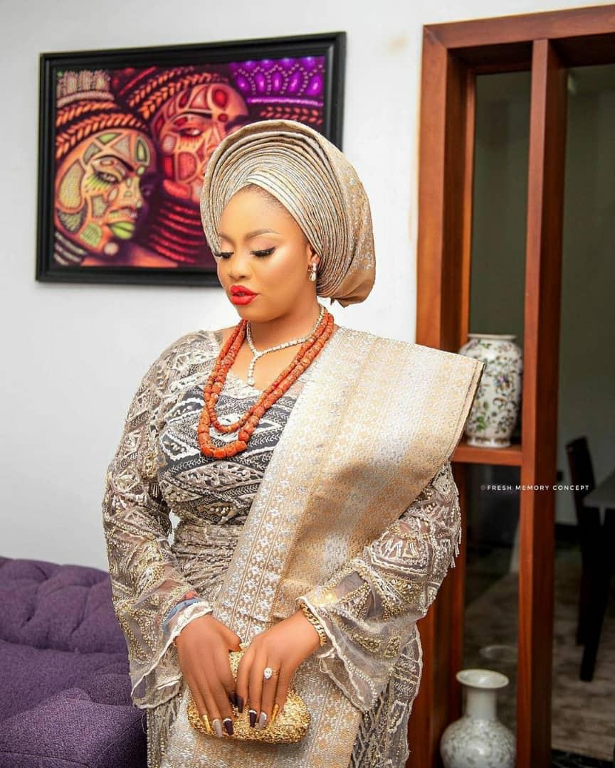 Wife of Alaafin of Oyo, Olori Memunat share gorgeous birthday photos as she clocks a new age