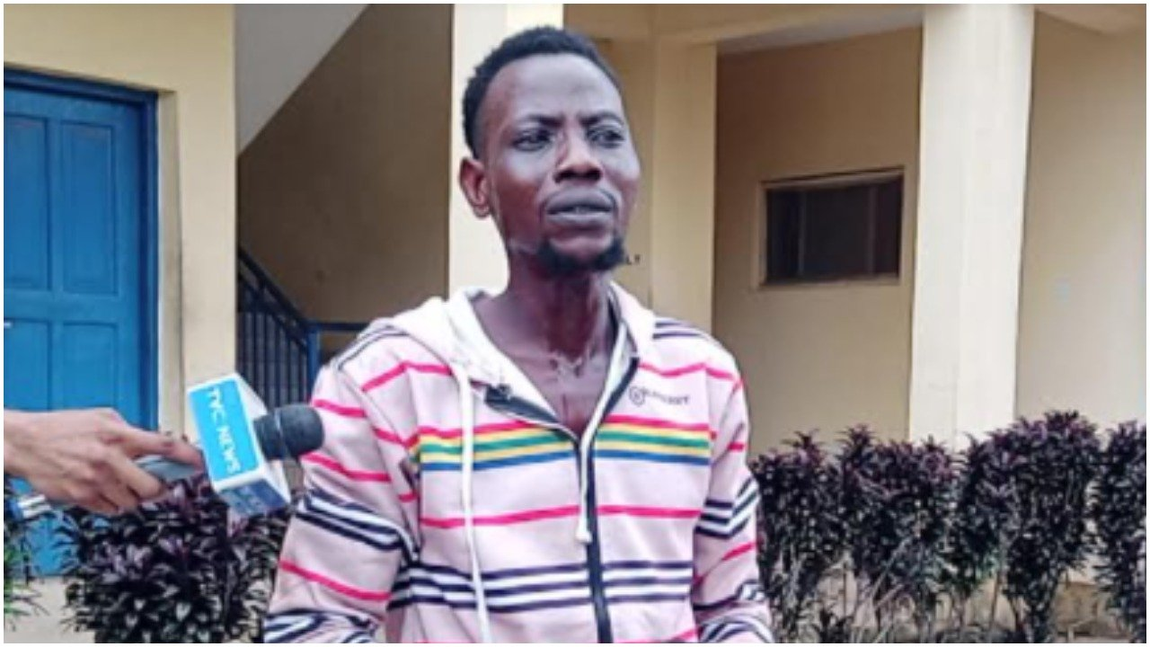 Osun: Nigerian man arrested in Apomu for killing, butchering lady for ritual-TopNaija.ng