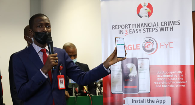 EFCC unveils 'Eagle Eye' App for online crime reporting