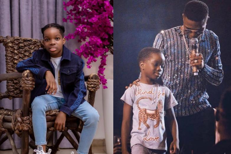 'Love always' - Wizkid's first son, Boluwatife showers prayers as his Dad turns 31