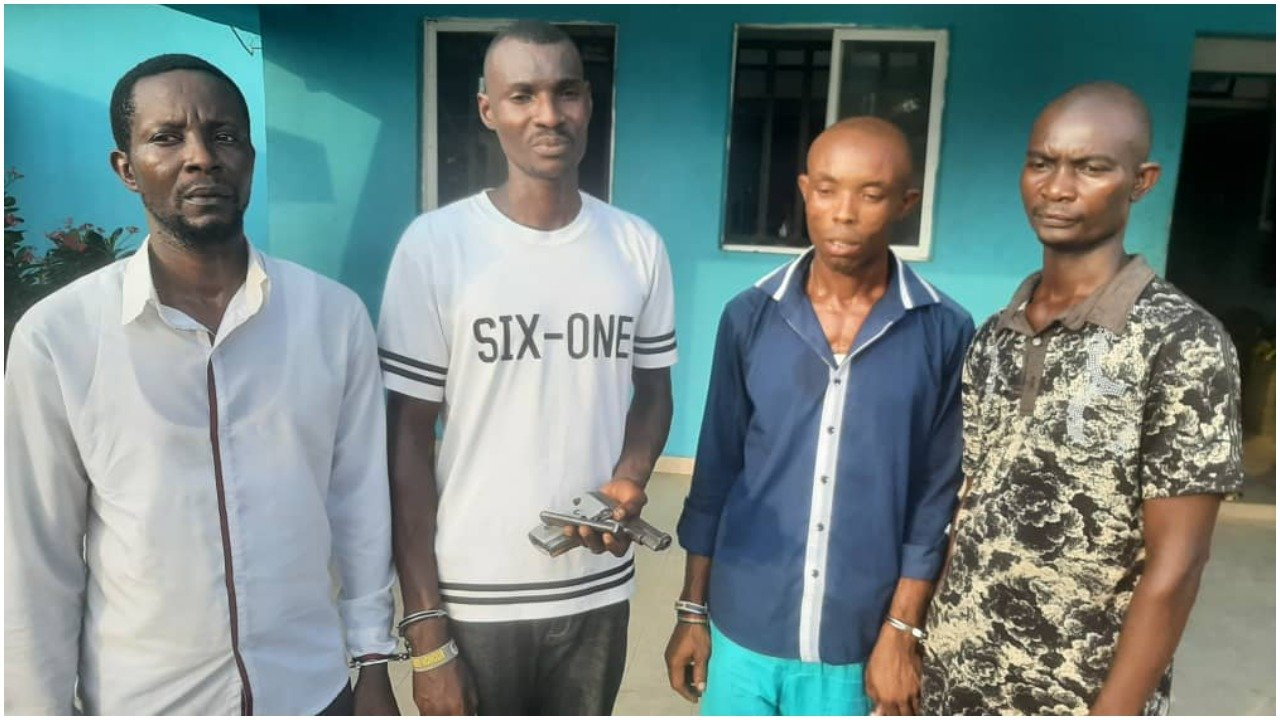 How Police arrested suspected robbers in Bayelsa, recovered pistol-TopNaija.ng