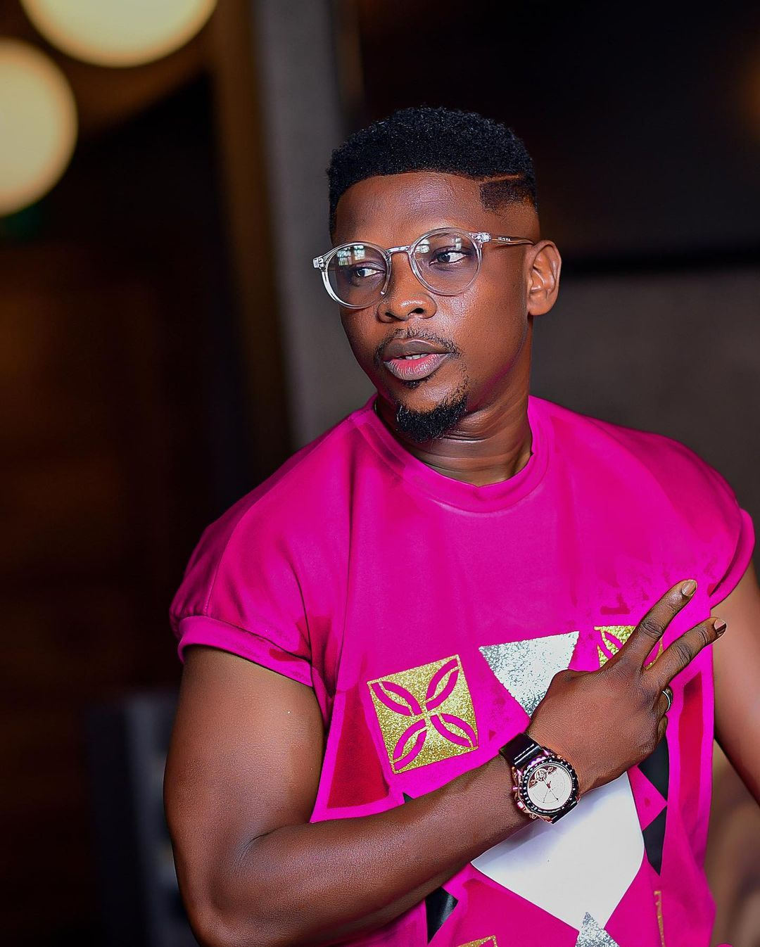 They threatened to shoot - Actor, Salami Rotimi said as he narrated his ordeal with Gunmen in Lagos traffic