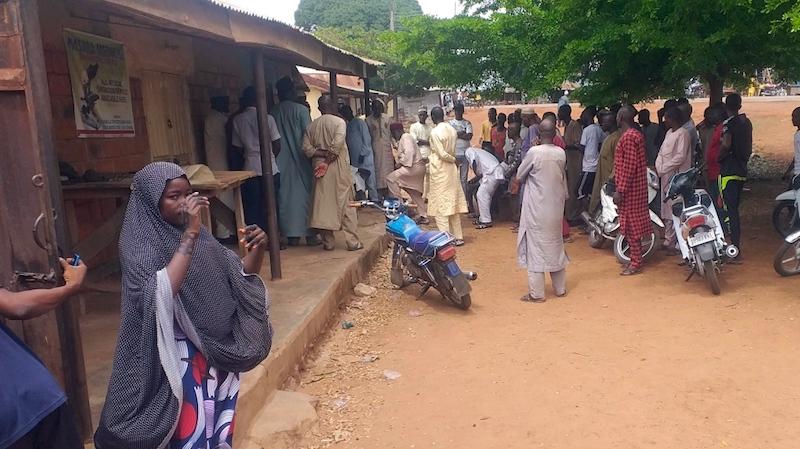 Salihu Tanko Islamiyya School in Tegina niger pupils e