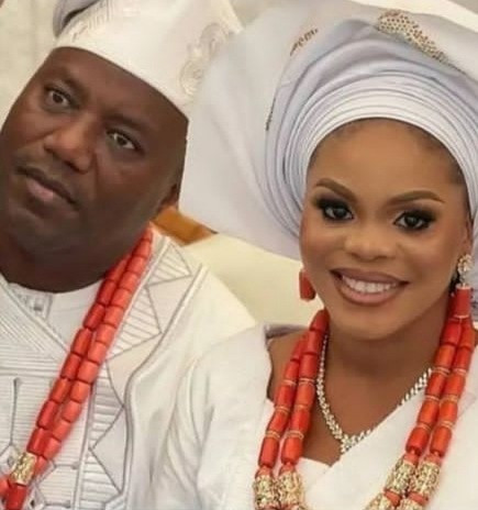 Lanre Gentry hails his new wife as he weds again