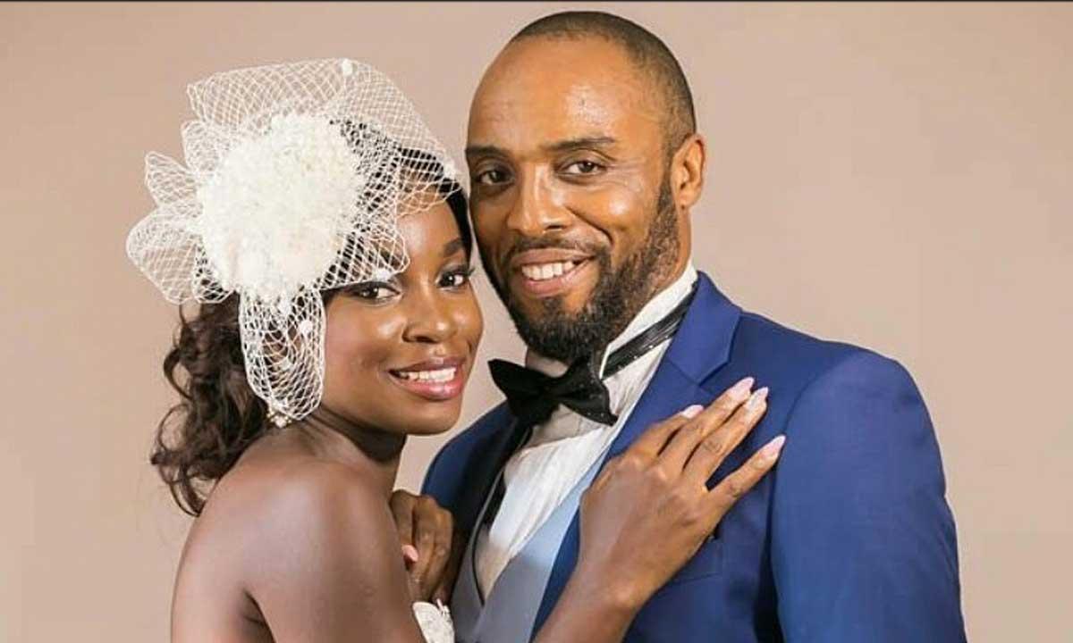 Kalu Ikeagwu and wife Ijeoma Eze Ikeagwu marriage 1